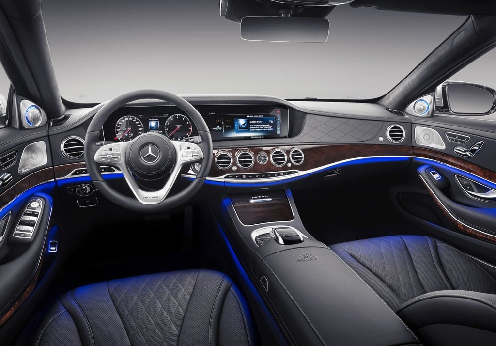 Mercedes обновил седан Maybach S-Class 2019